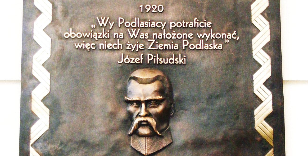 Honorowe obywatelstwo miasta Biała Podlaska dla Naczelnika Państwa i Wodza Naczelnego