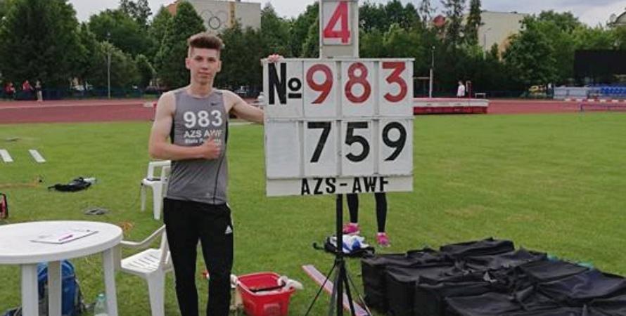 Bialski lekkoatleta wystartuje w mistrzostwach świata juniorów