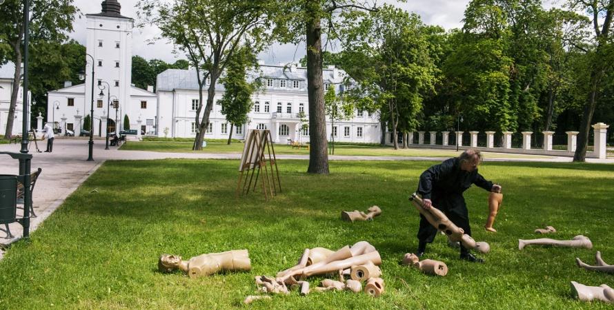Park Sztuki we wrześniu