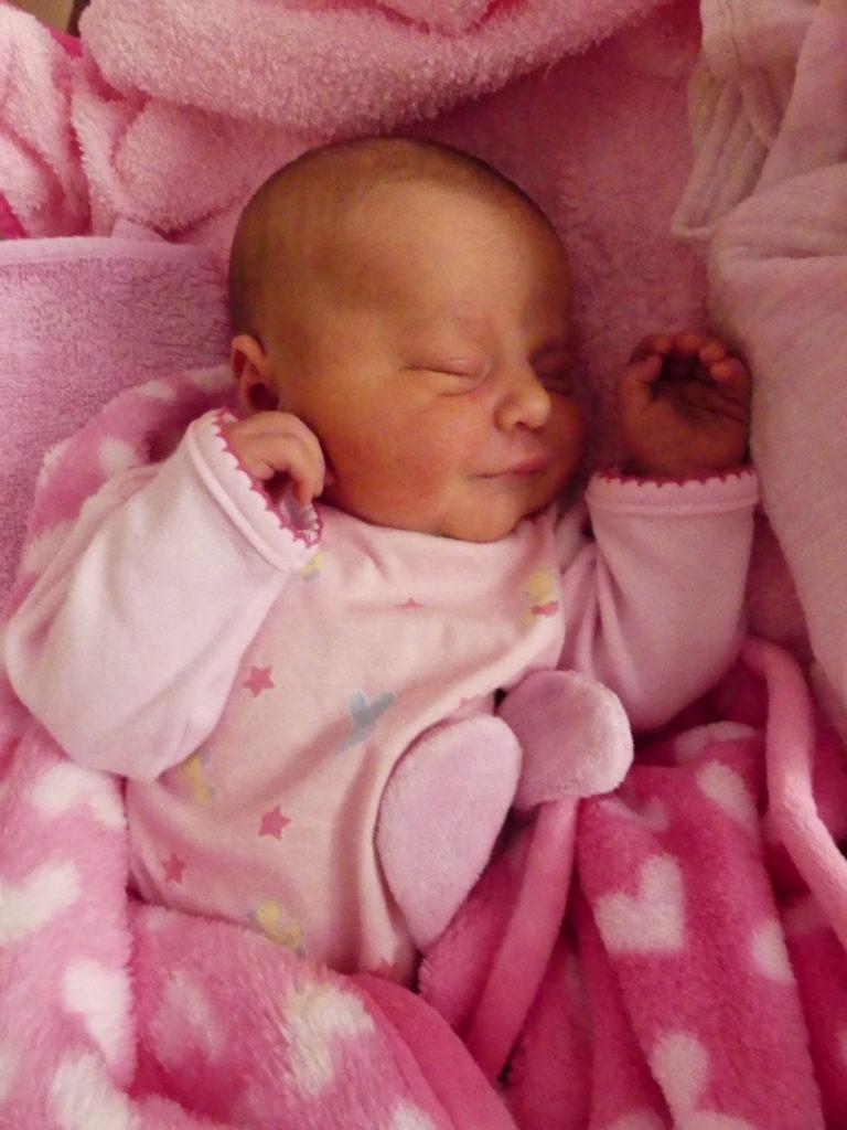 Klaudia Musiałowska urodziła się 18 lipca, ważąc 3820 g i mierząc 56 cm. Dumni rodzice to Monika i Mariusz.