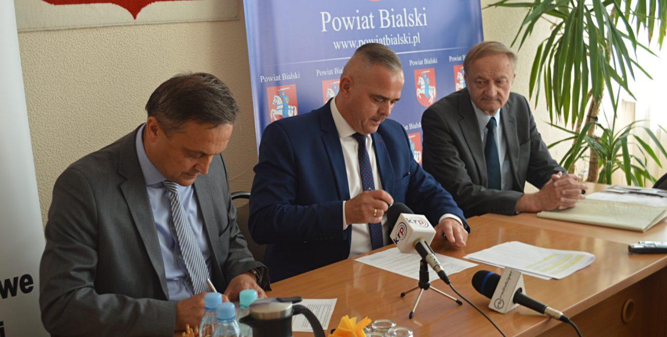 POWIAT BIALSKI: Scalenie uporządkuje grunty w Żeszczynce