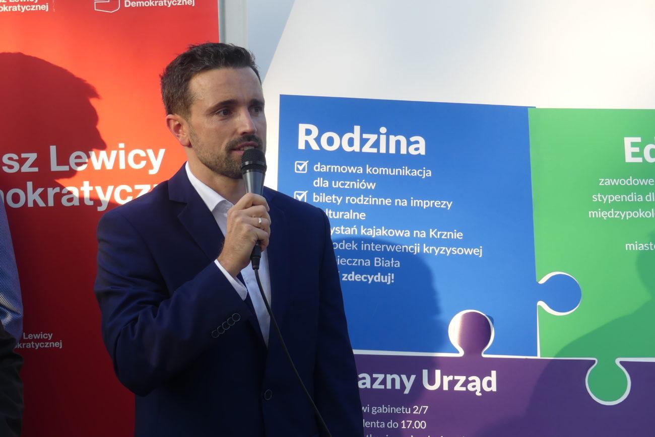 BIAŁA PODLASKA: Michał Litwiniuk kandydatem na prezydenta