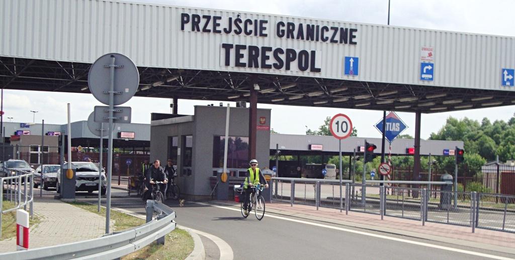 Granica z Białorusią otwarta dla rowerzystów?
