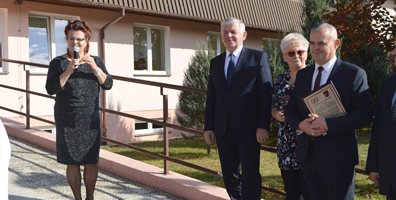 Nowe miejsca dla podopiecznych DPS w Kozuli