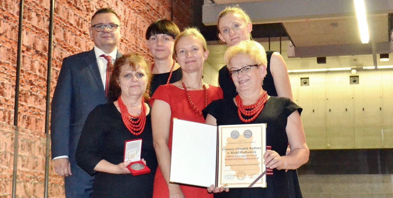 Medal dla bialskiego Gminnego Centrum Kultury
