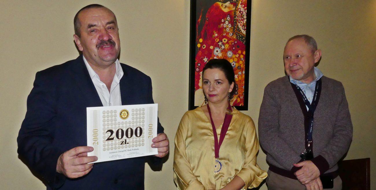 Rotarianie wspierają uczniów Kraszaka