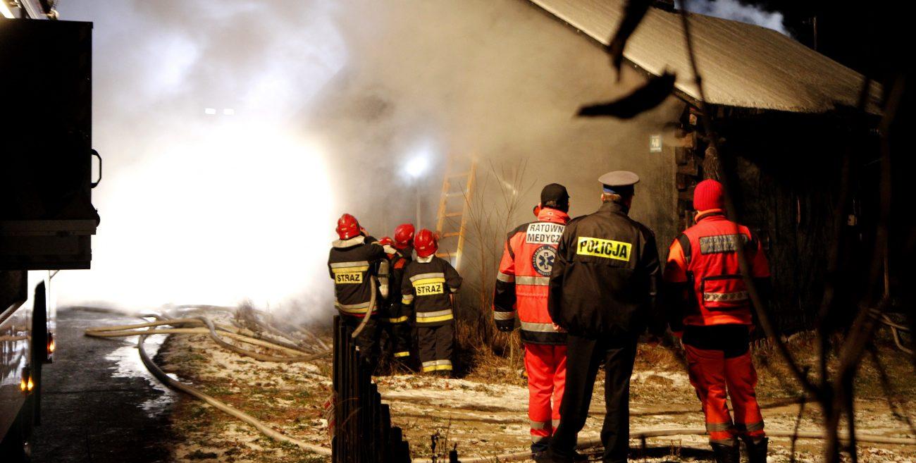 Tragiczny pożar w Michałkach
