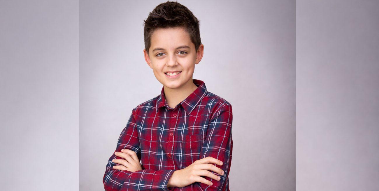 Eryk z Międzyrzeca Podlaskiego nagrał własną piosenkę