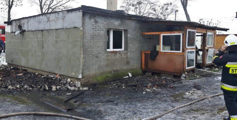 W pożarze stracił dorobek życia