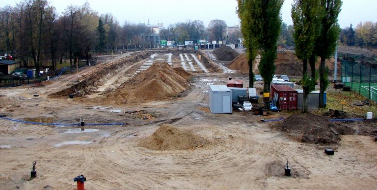 Biała Podlaska: Budowa stadionu wstrzymana na dobre