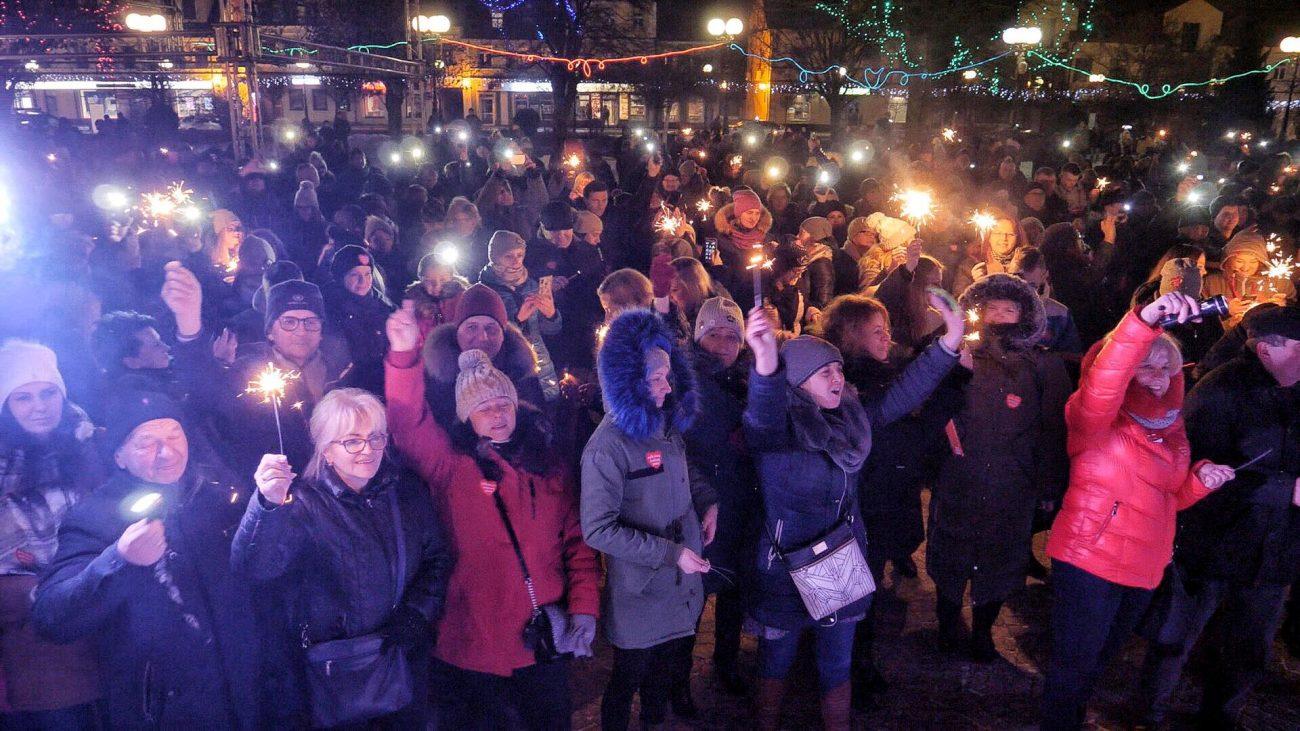 Światełko do nieba w geście solidarności