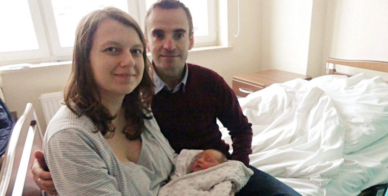 Emilka urodziła się w tym roku jako pierwsza