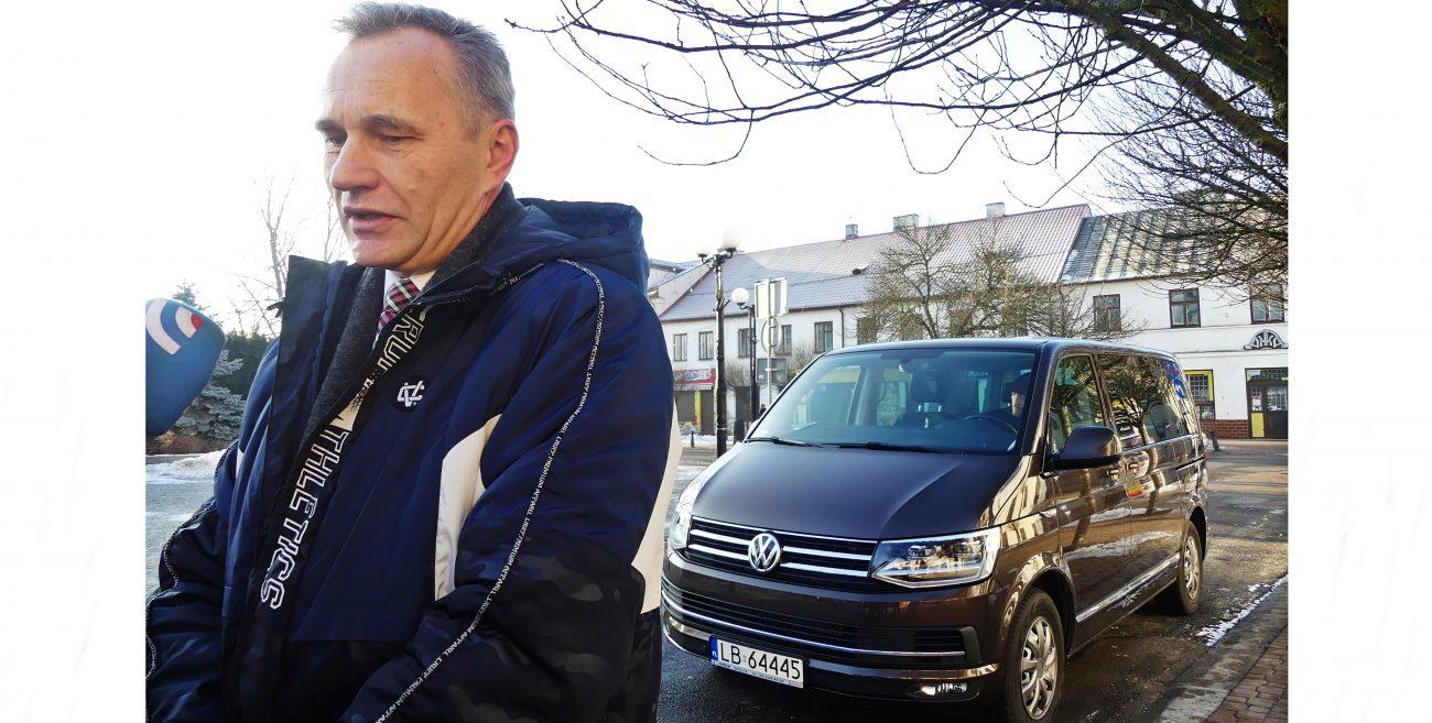 Biała Podlaska: Luksusowy van za drogi dla miasta
