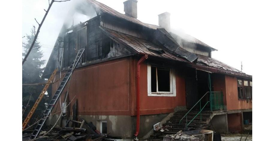 Matka i syn ofiarami pożaru