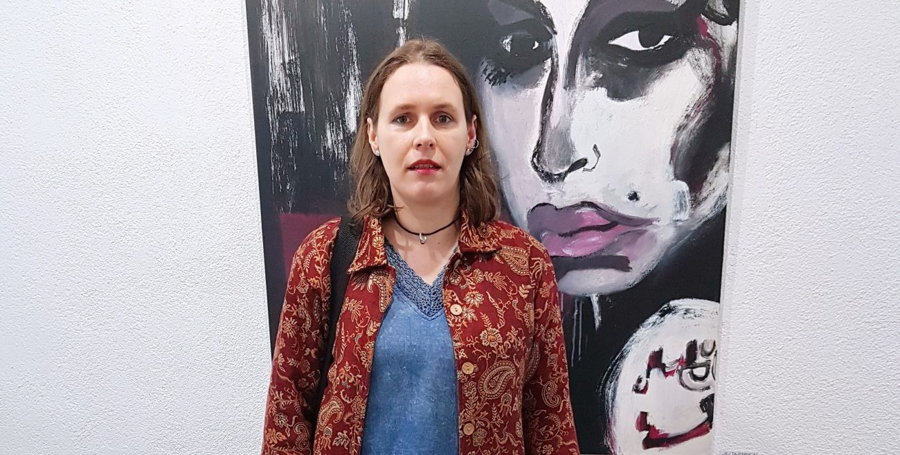 Raczyńska: Moje obrazy nie są smutne