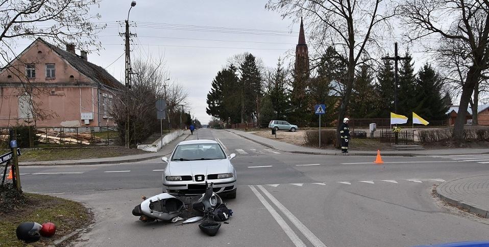 Groźne zderzenie w Łomazach