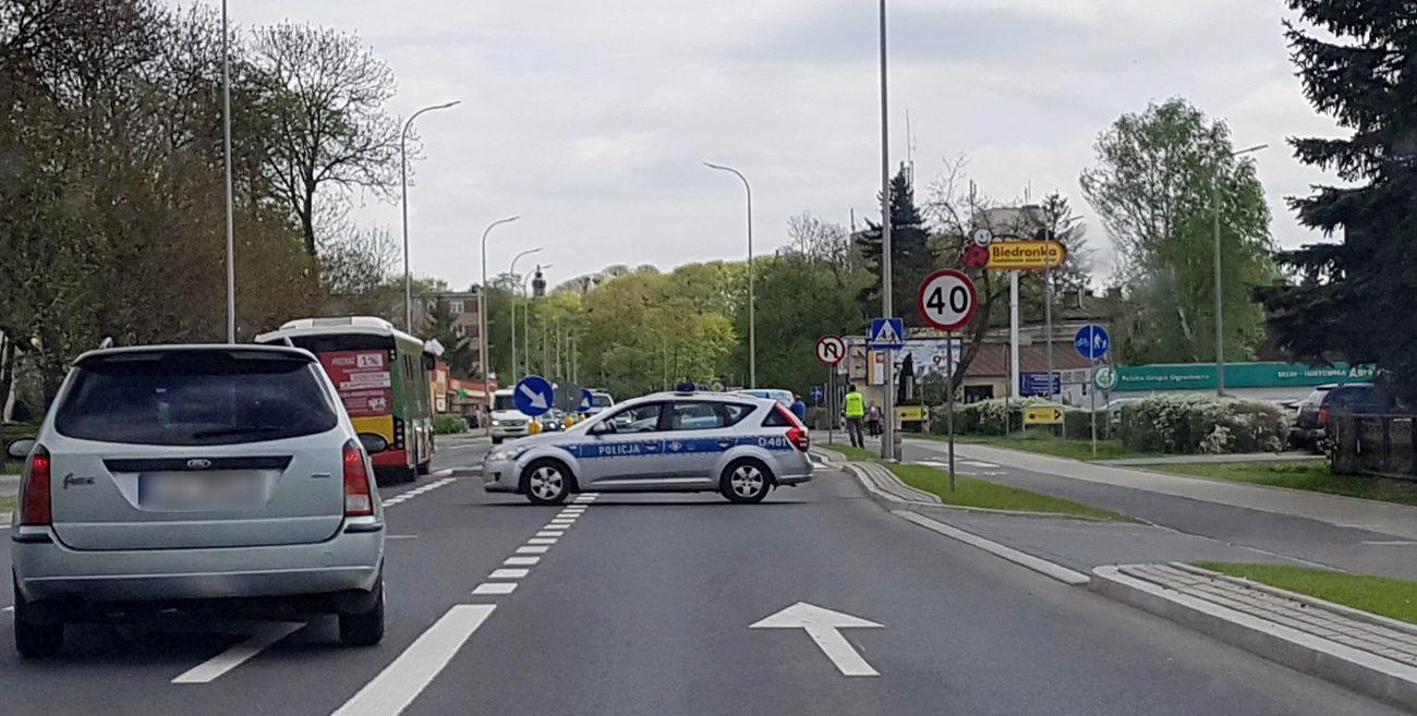 Biała Podlaska: 95-latek potrącony przy Biedronce