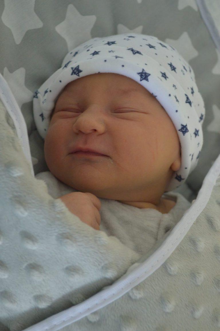 Maria urodziła się 7 maja ważąc 4190 g i mierząc 62 cm. To pierwsze dziecko Katarzyny i Rafała Szulaków z Białej Podlaskiej.