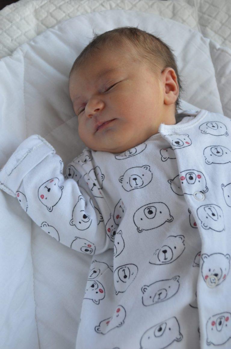 Michał i Emilia z Międzyrzeca Podlaskiego 6 maja zostali rodzicami Michaliny. Dziewczynka ważyła 3100 g i mierzyła 52 cm. W domu czeka 4-letnia siostra Zuzanna.