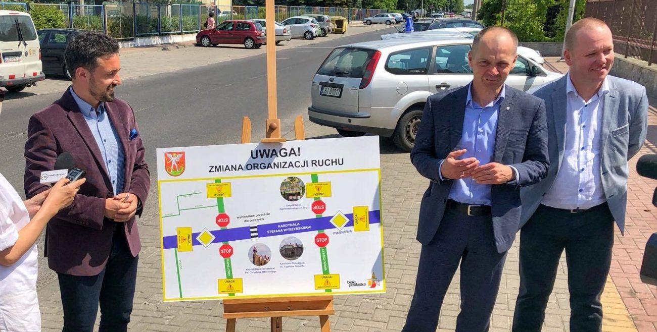 Biała Podlaska: Będzie bezpieczniej na Wyszyńskiego!