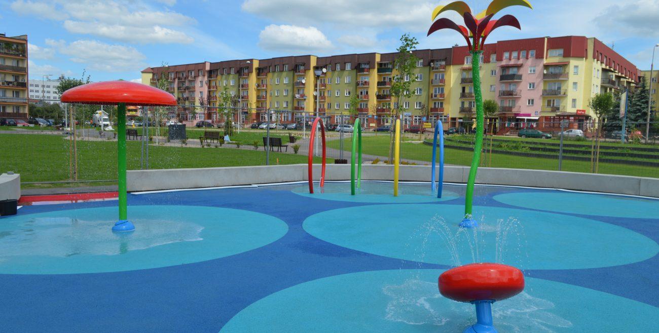 Park przy Terebelskiej prawie gotowy