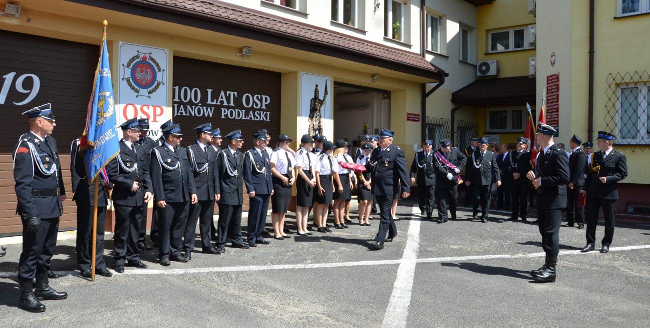 Sto lat ochotników z Janowa Podlaskiego