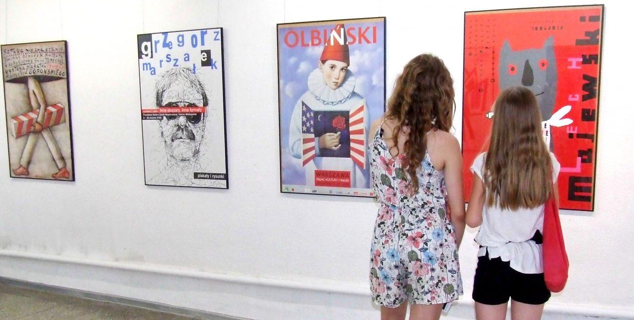 Mistrzowie plakatu w galerii