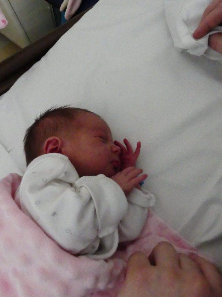 Zuzia urodziła się 26 czerwca, ważąc 2730 g i mierząc 53 cm. To pierwsze dziecko Basi i Dominika Filipiuków z Białej Podlaskiej.