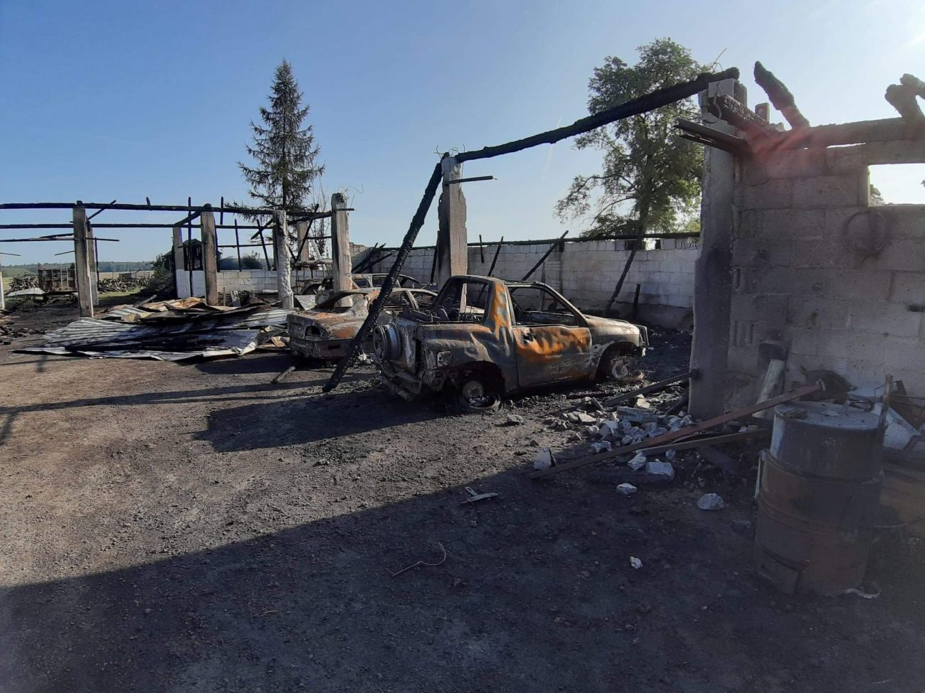 Ogień zabrał dorobek życia. Rodzina z Rokitna potrzebuje pomocy
