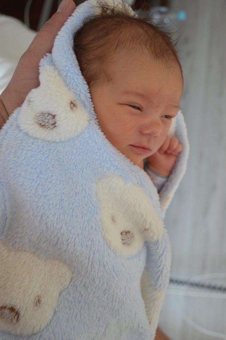 Hanna urodziła się 29 lipca z wagą 2900 g. Dla Marty i Karola Orłowskich z miejscowości Worsy jest to pierwsze dziecko.