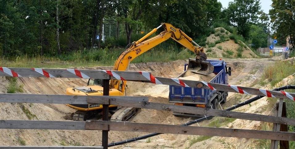 Biała Podlaska: Wznowiono prace przy budowie tunelu
