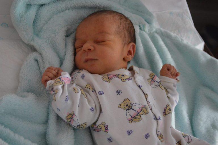 Mikołaj Kopaczuk urodził się 18 września z wagą 2850 g i miarą 55 cm. Karolina i Łukasz z Konstantynowa rodzicami zostali po raz pierwszy.