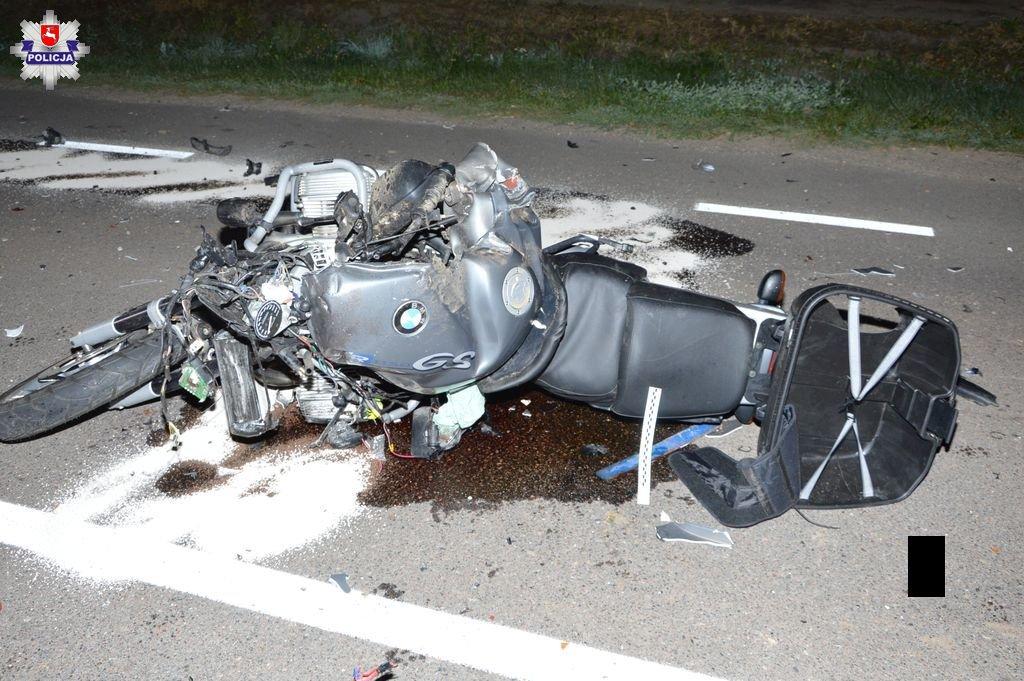 Czarna seria wypadków z udziałem motocyklistów