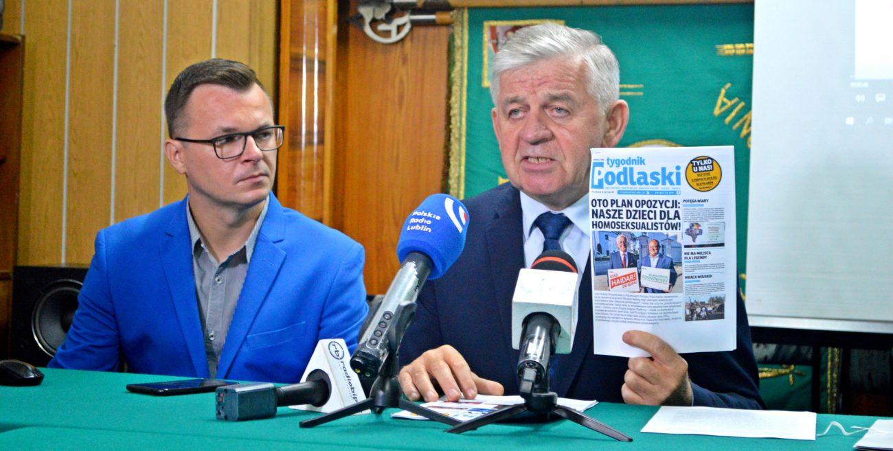 Sosnowski skarży tygodnik kojarzony z senatorem Biereckim