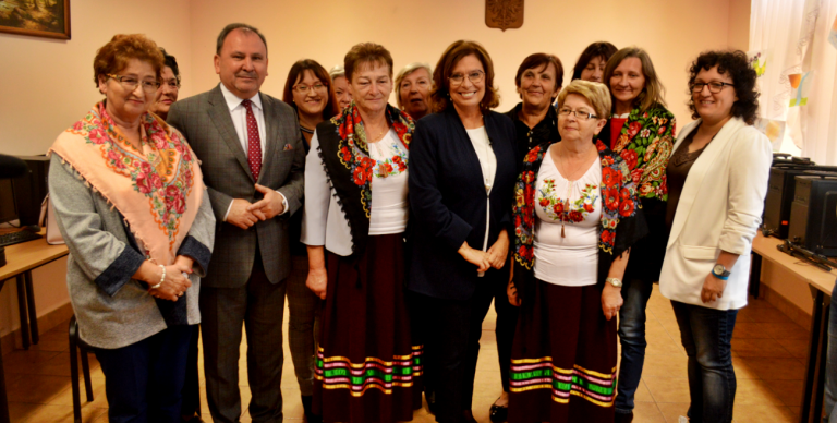 Kidawa-Błońska spotkała się z gospodyniami