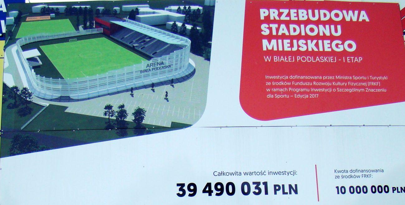 Rusza budowa stadionu, na początek przyłącza