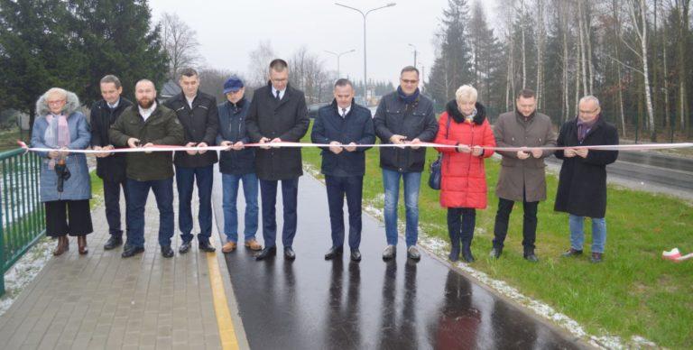 Droga powiatowa za 3,5 mln zł już otwarta