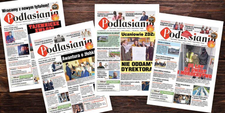 Wesprzyj niezależne media. Dołącz do Patronów Podlasianina!