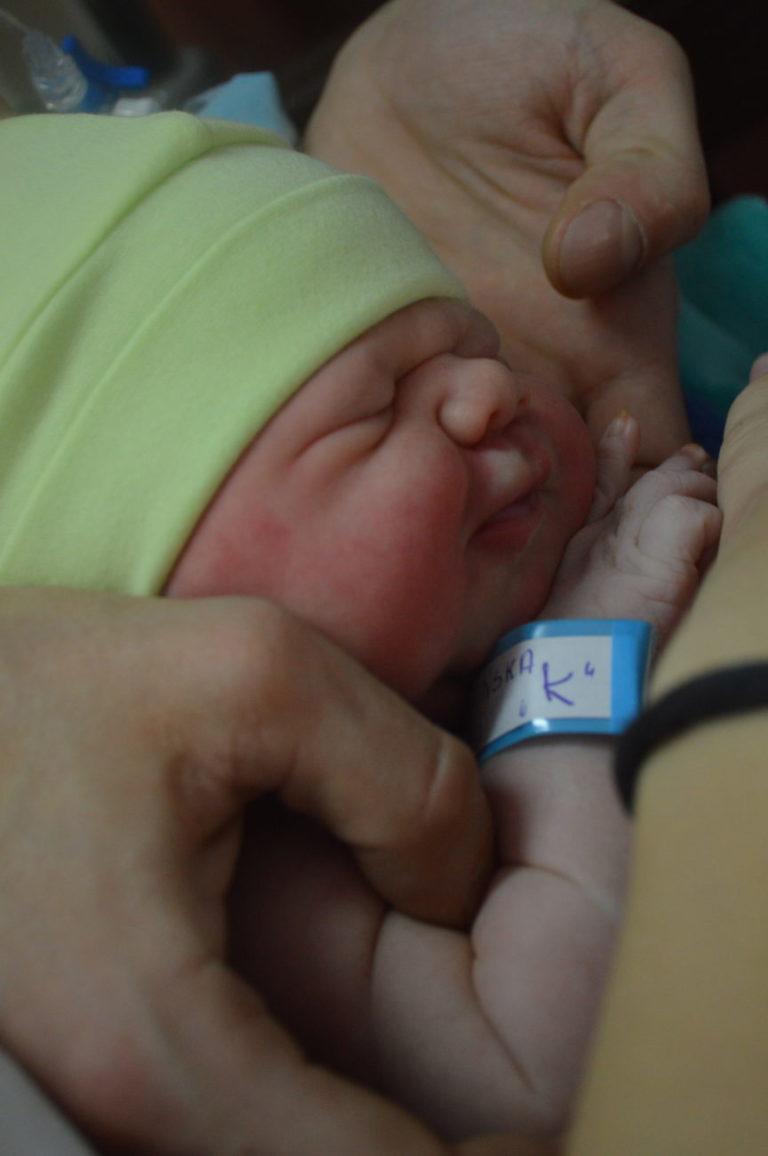 2 stycznia urodziła się Jagoda. Dla Emila i Ewy z Białej Podlaskiej jest to pierwsze dziecko.