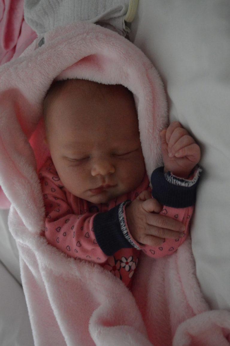 Córka Agaty i Eugeniusza Jaszczuków z Korczówki przyszła na świat 18 grudnia z wagą 3110 g i miarą 54 cm. Dla Moniki i Radosława Mikołajczuków z Białej Podlaskiej jest to czwarte dziecko.