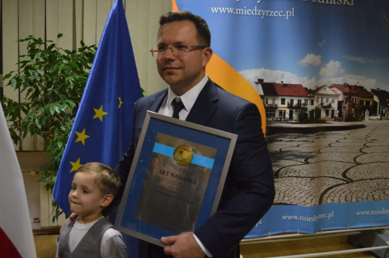 Litwiniuk honorowym obywatelem Międzyrzeca