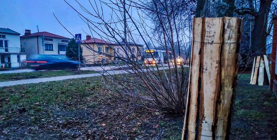 Ulica Warszawska w remoncie