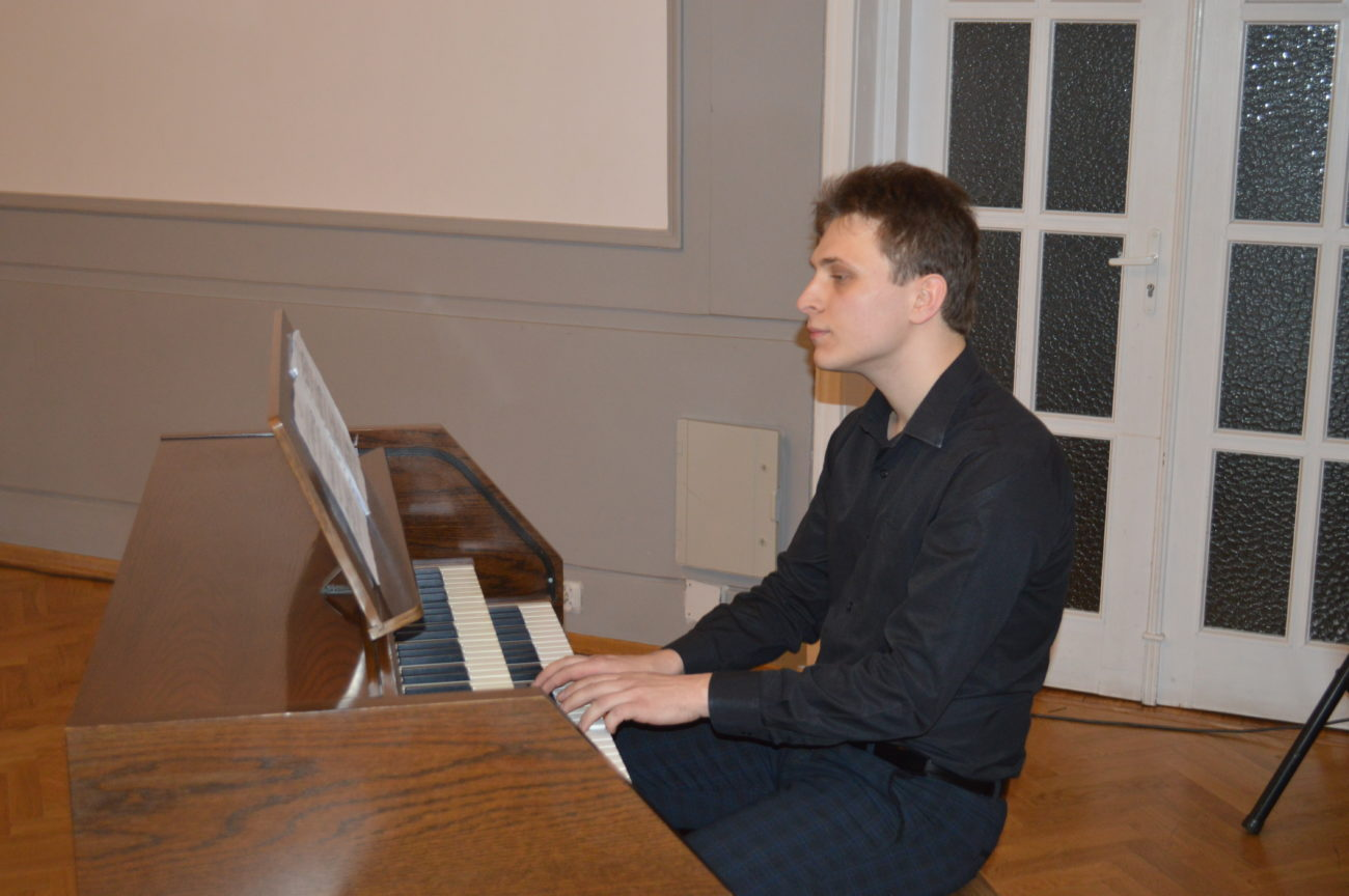 Koncert organowy Piotra Arseniuka