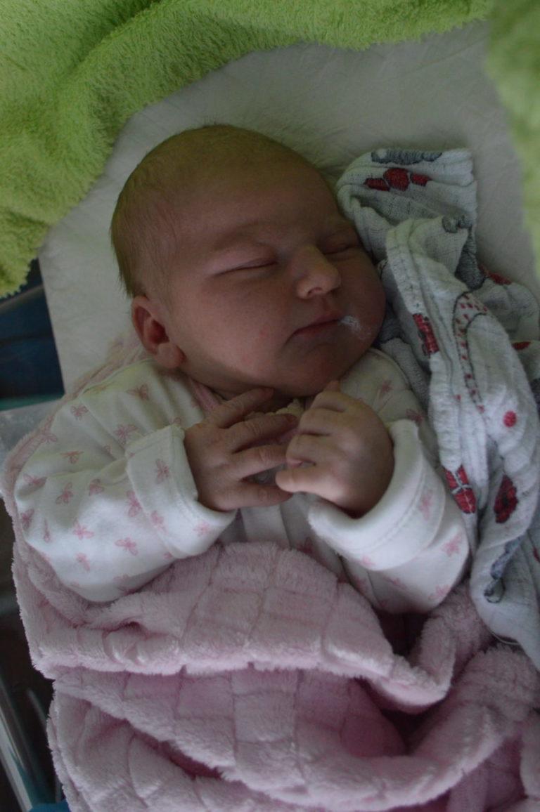 Maja urodziła się 22 stycznia z wagą 4100 g i miarą 57 cm. Angelika i Łukasz Mitkowscy z Brzozowicy Dużej mają już synów Filipa i Alana.