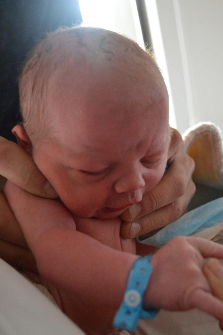 Witold to trzeci syn Doroty i Pawła Kryszczaków z Białej Podlaskiej. Urodził się 23 stycznia. W domu czekają bracia Antoni i Jan.