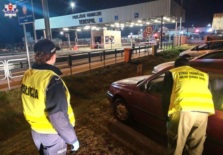 Wspólne patrole Straży Granicznej i Policji na wschodnich przejściach