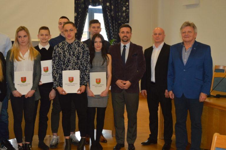 Wręczenie stypendiów sportowych w Białej Podlaskiej