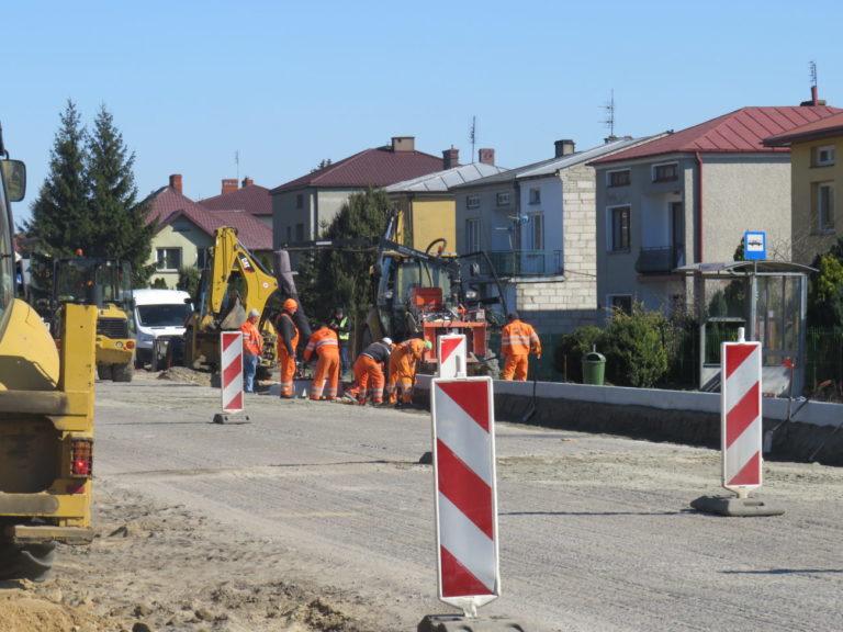 Budowa ulicy Warszawskiej