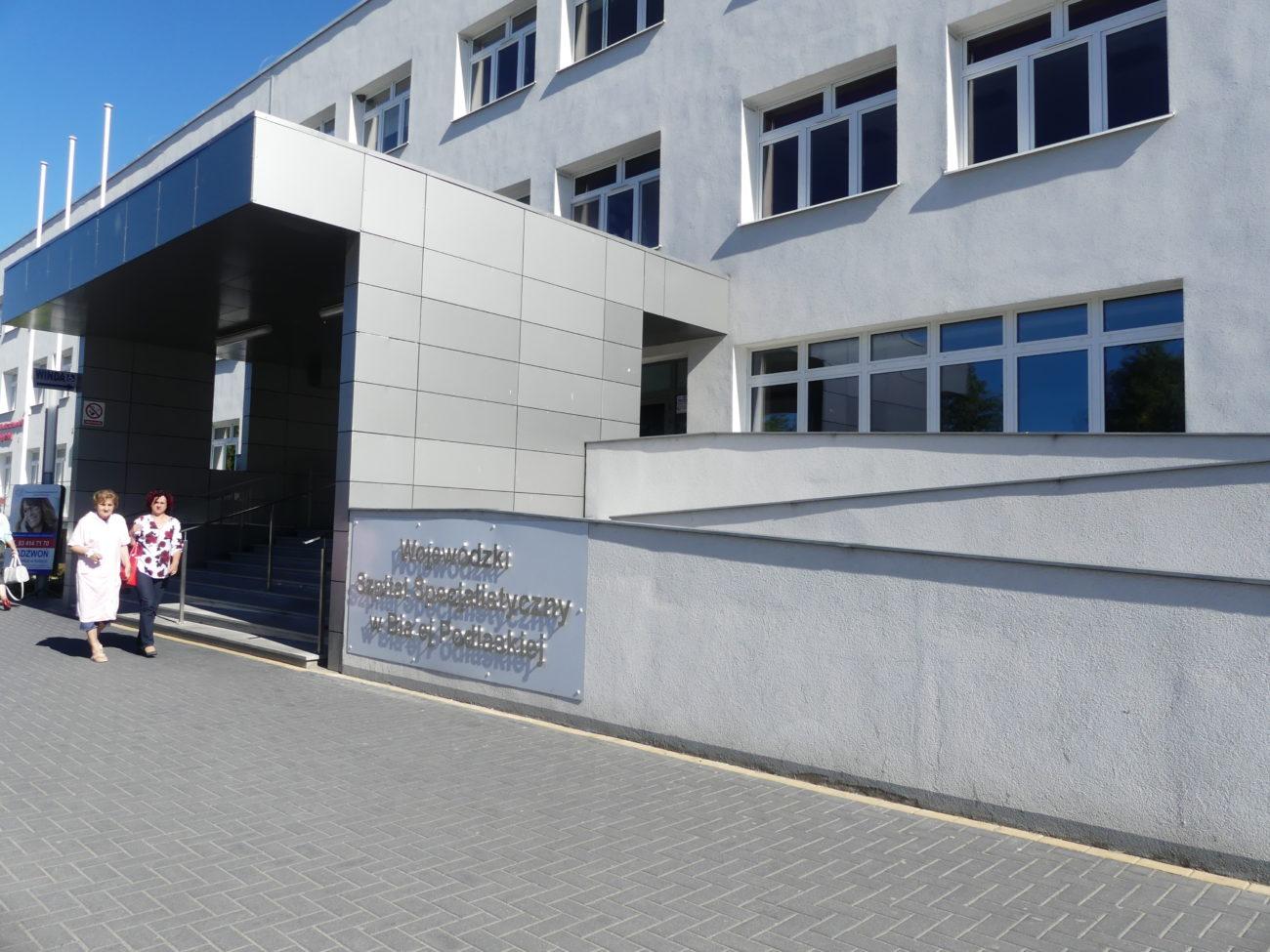 Zakaz odwiedzin chorych na oddziale bialskiego szpitala