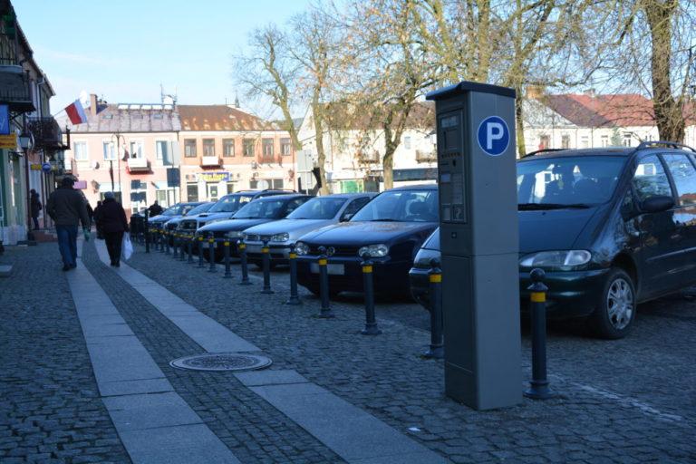 Zawieszone pobieranie opłat za parking